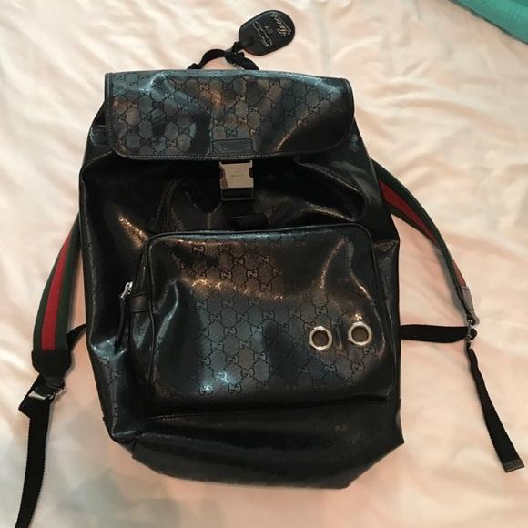112f1455a Gucci Bags | Ltd Edition Imprime 500 Backpack | Poshmark